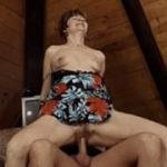 imagen Abuela encantada con el sexo