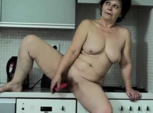 masturba cocina