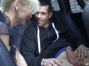 Señora, cómame la polla en mi coche...