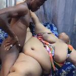 imagen Negra obesa follada por su hijastro