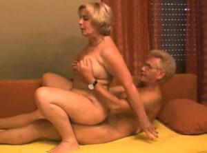 El casting porno de un matrimonio sesentón